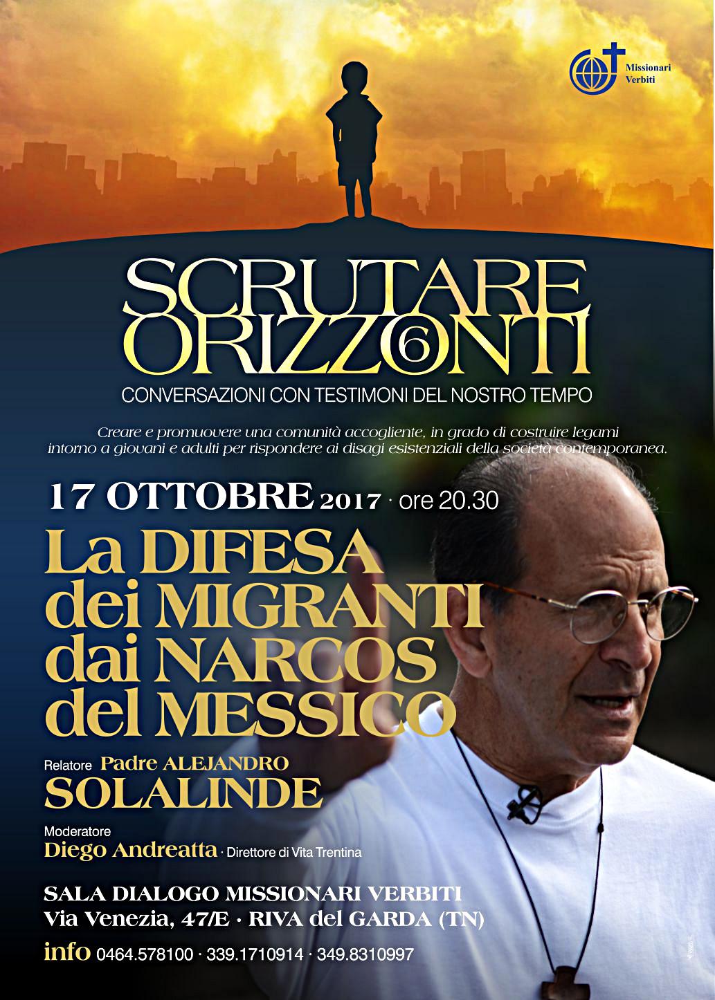 Scrutare Orizzonti 6 - padre Alejandro Solalinde